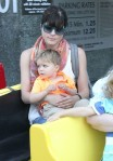Selma Blair & Arthur Saint Train Ride 4