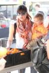 Selma Blair & Arthur Saint Train Ride 40