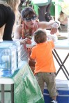 Selma Blair & Arthur Saint Train Ride 41