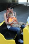 Selma Blair & Arthur Saint Train Ride 44