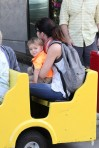 Selma Blair & Arthur Saint Train Ride 50