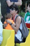 Selma Blair & Arthur Saint Train Ride 51