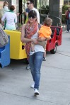 Selma Blair & Arthur Saint Train Ride 56