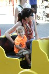 Selma Blair & Arthur Saint Train Ride 57