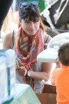 Selma Blair & Arthur Saint Train Ride 59