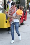 Selma Blair & Arthur Saint Train Ride 6