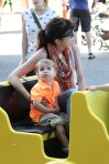 Selma Blair & Arthur Saint Train Ride 60