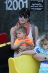 Selma Blair & Arthur Saint Train Ride 61