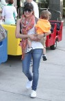 Selma Blair & Arthur Saint Train Ride 7