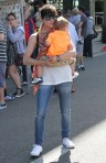 Selma Blair & Arthur Saint Train Ride 8
