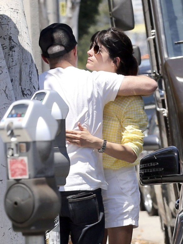 Selma Blair & Jason Bleick Grab Lunch In West Hollywood 1