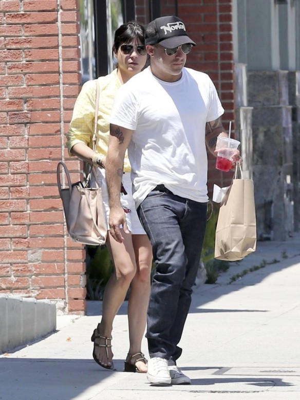 Selma Blair & Jason Bleick Grab Lunch In West Hollywood 2
