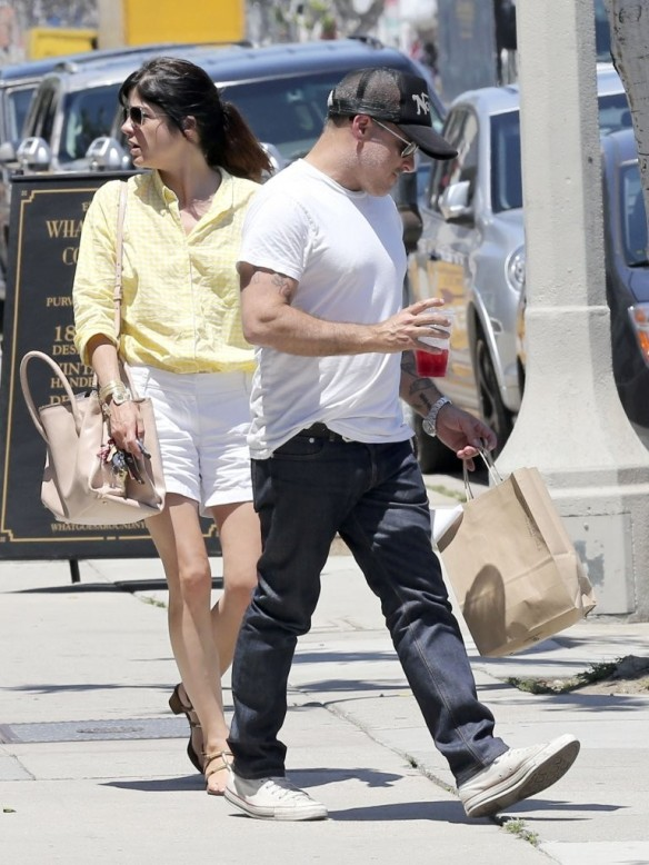 Selma Blair & Jason Bleick Grab Lunch In West Hollywood 3