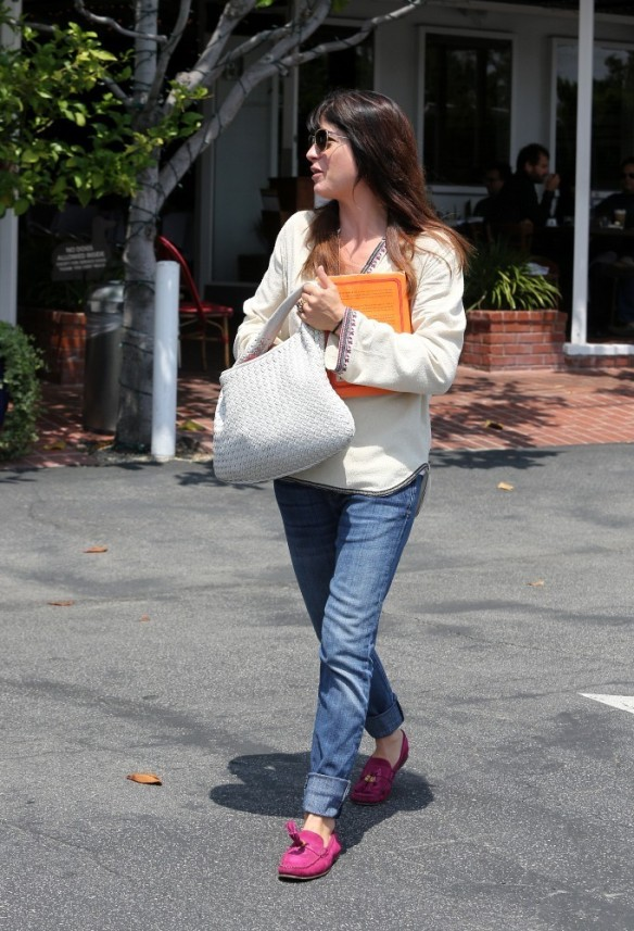 Selma Blair Leaving Freg Segal 1