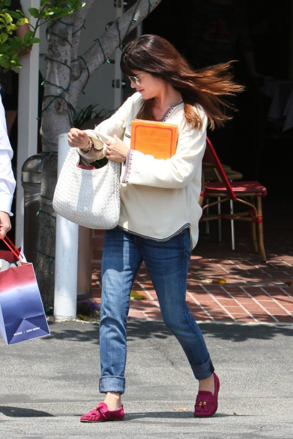 Selma Blair Leaving Freg Segal 10