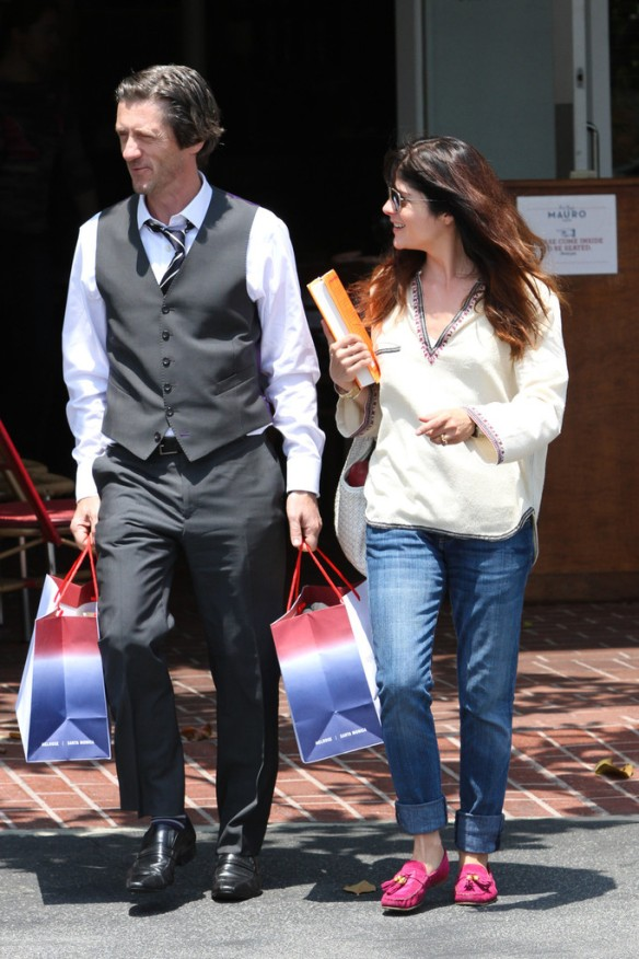 Selma Blair Leaving Freg Segal 16