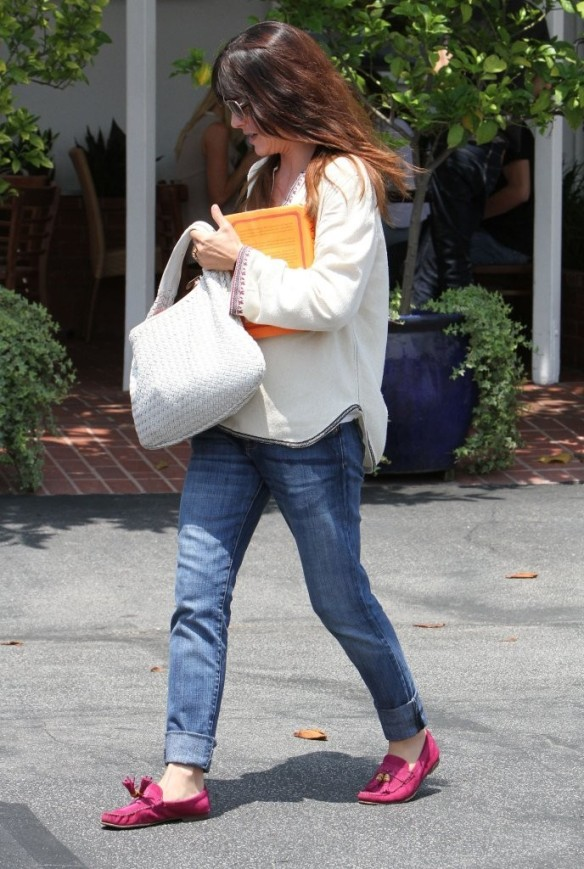 Selma Blair Leaving Freg Segal 17