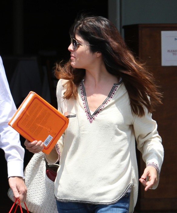 Selma Blair Leaving Freg Segal 9