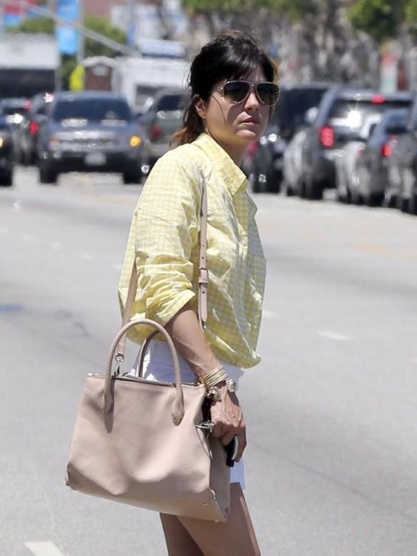 Selma Blair Shops American Rag 3