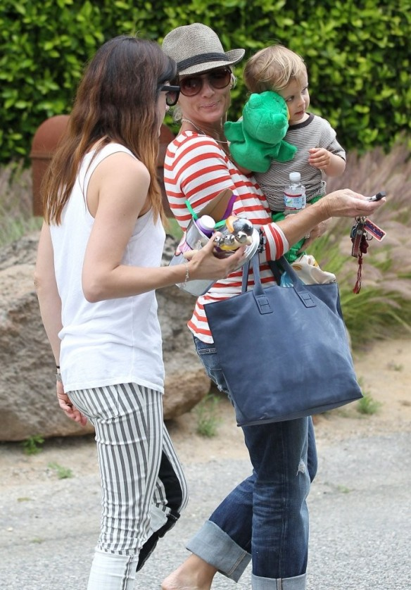 Selma Blair & Arthur Saint Attend Willow Hart's Birthday Party 1