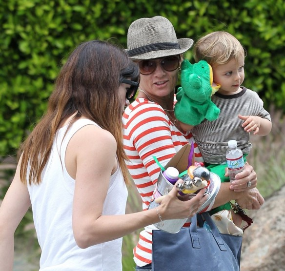 Selma Blair & Arthur Saint Attend Willow Hart's Birthday Party 2