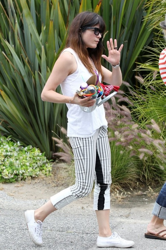 Selma Blair & Arthur Saint Attend Willow Hart's Birthday Party 3