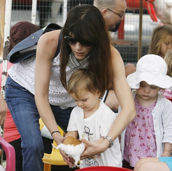 Selma Blair Celebrates Birthday With Arthur 1