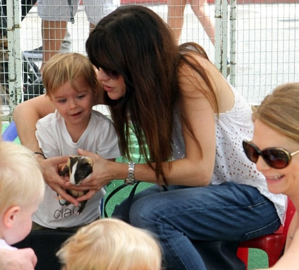 Selma Blair Celebrates Birthday With Arthur 2