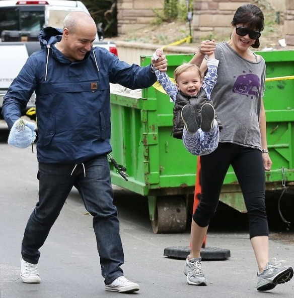 Selma Blair & Jason Bleick Morning Outing With Baby Arthur 1