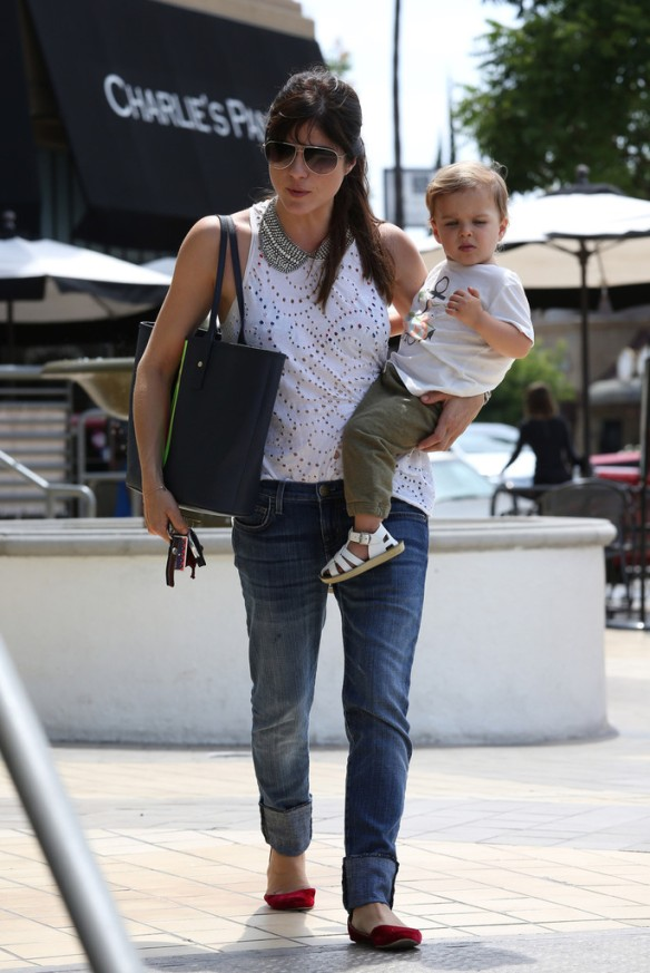 Selma Blair Spends 41st With Baby Arthur 10