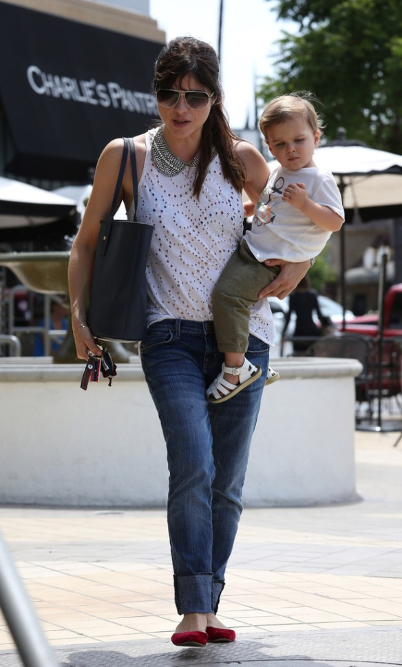 Selma Blair Spends 41st With Baby Arthur 12