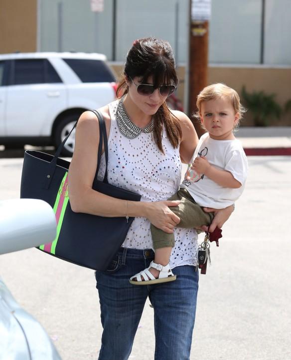 Selma Blair Spends 41st With Baby Arthur 13