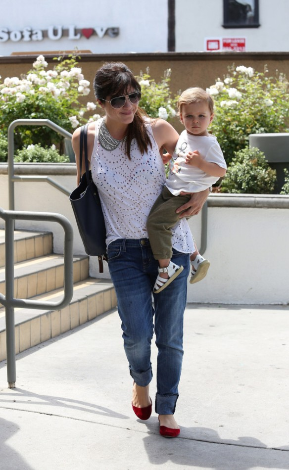 Selma Blair Spends 41st With Baby Arthur 2