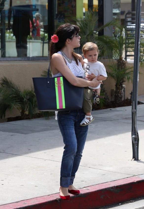 Selma Blair Spends 41st With Baby Arthur 4