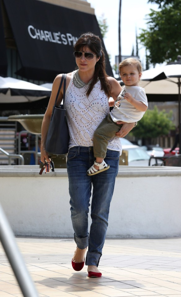 Selma Blair Spends 41st With Baby Arthur 5