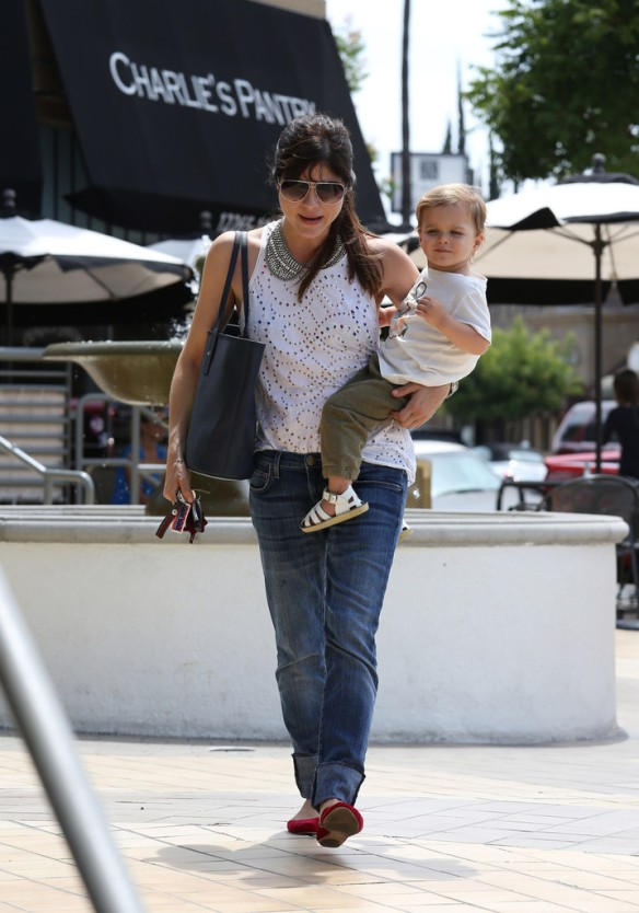 Selma Blair Spends 41st With Baby Arthur 6