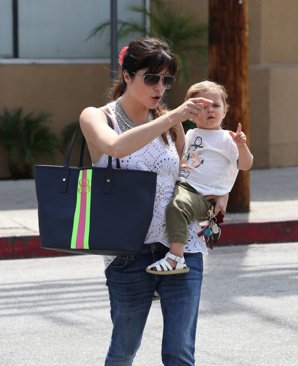 Selma Blair Spends 41st With Baby Arthur 7