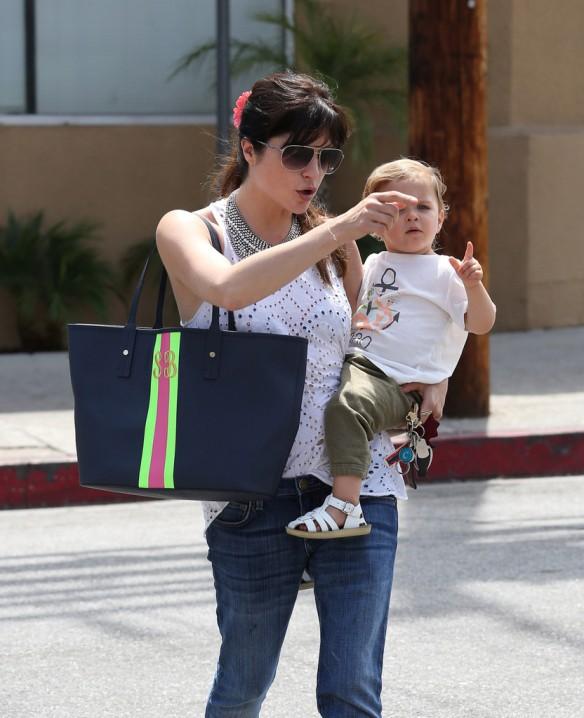 Selma Blair Spends 41st With Baby Arthur 7