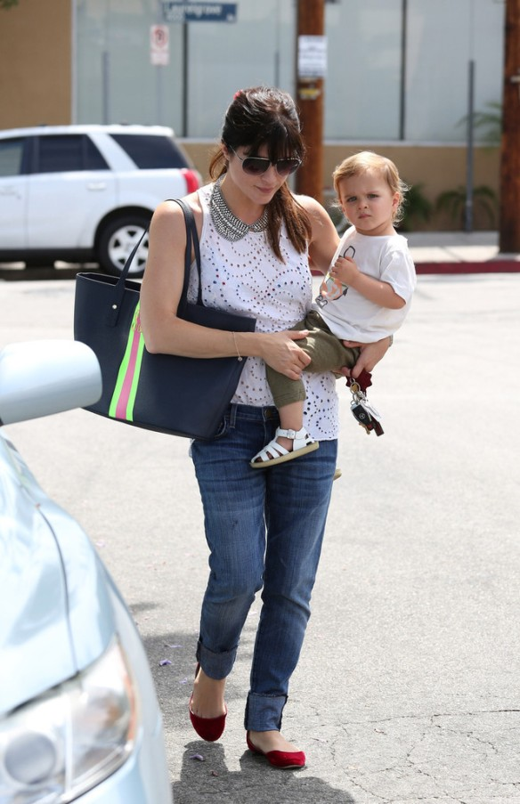 Selma Blair Spends 41st With Baby Arthur 8