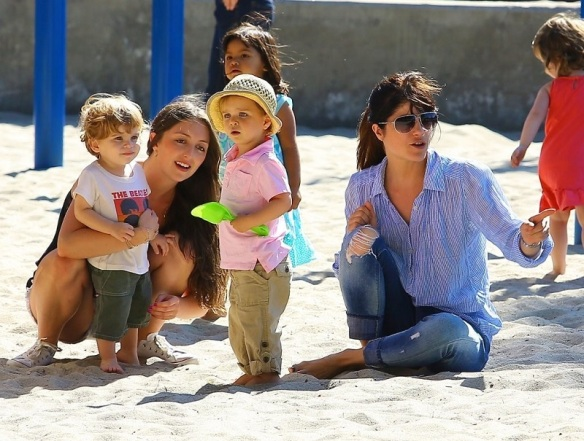 Selma Blair Spends Her Day With Baby Arthur 20