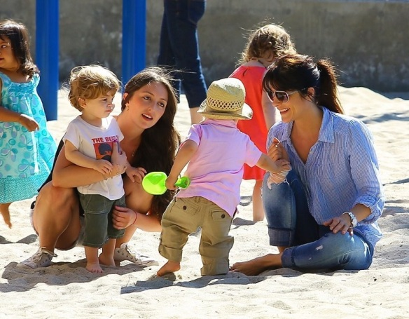Selma Blair Spends Her Day With Baby Arthur 22