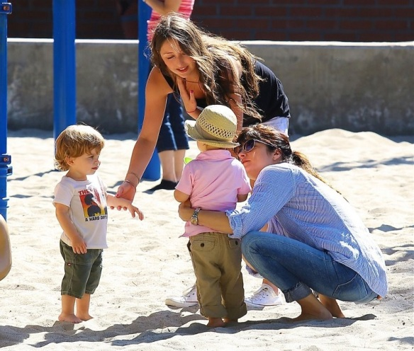 Selma Blair Spends Her Day With Baby Arthur 24