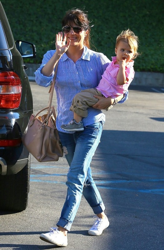 Selma Blair Spends Her Day With Baby Arthur 3