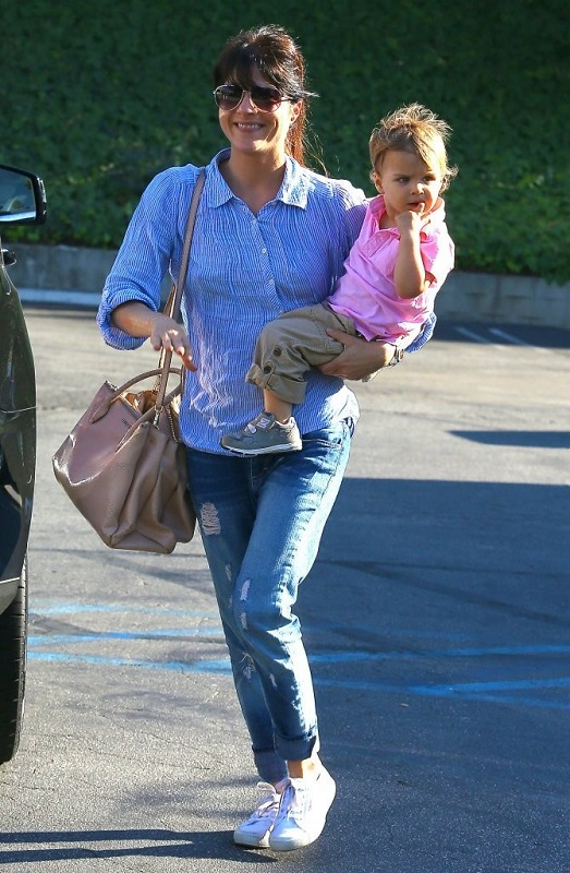 Selma Blair Spends Her Day With Baby Arthur 4