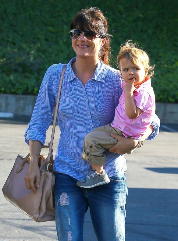 Selma Blair Spends Her Day With Baby Arthur 5