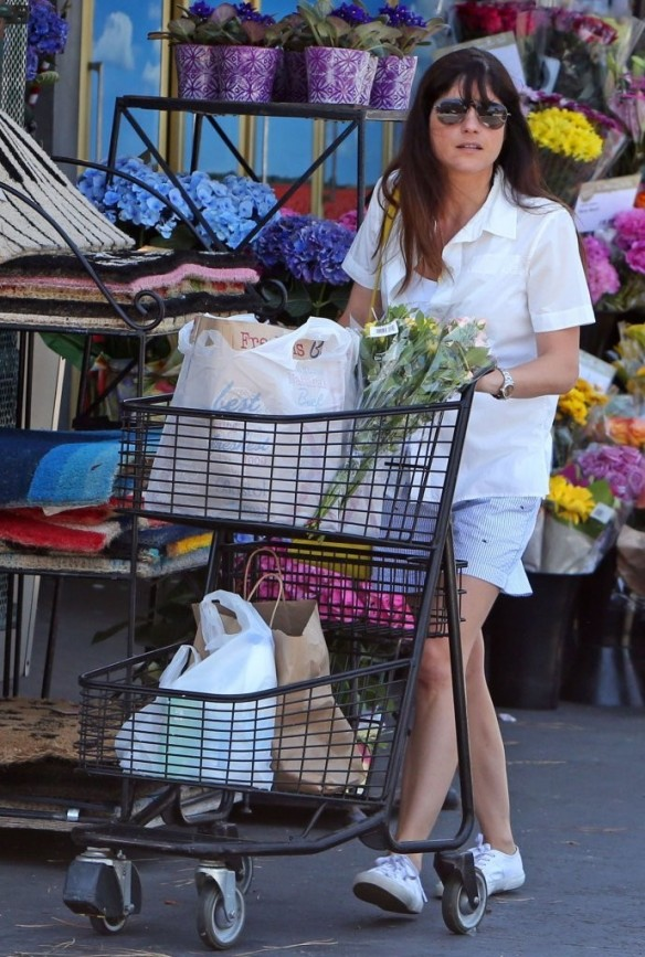 Selma Blair Stocks Up At Bristol Farms 2