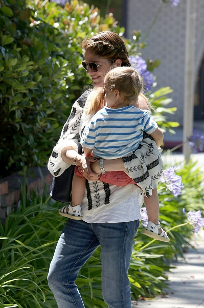 Selma Blair Out With Baby Arthur 2