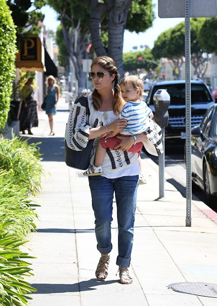 Selma Blair Out With Baby Arthur 3