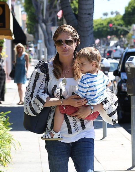 Selma Blair Out With Baby Arthur 4