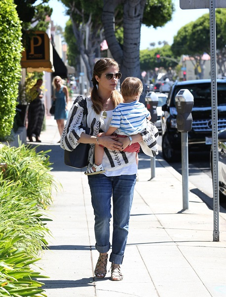 Selma Blair Out With Baby Arthur 5